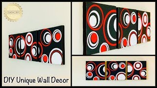 Diy Unique Wall Decor| gadac diy| wall hanging| craft ideas for home decor| diy crafts| paper crafts