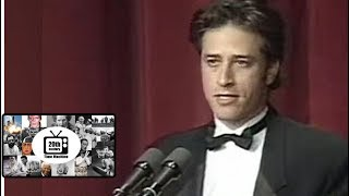 young pre daily show jon stewarts compelling performance 1997 wh correspondents dinner