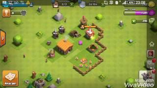 Tentando jogar clash of clans #2 (Bug Do Gravador)