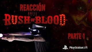 Until Dawn: Rush of Blood - Reacción: Parte 1 // Wheezy Ft. Donovan Morales