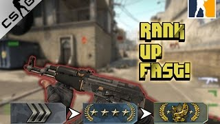 TOP 5 WAYS TO RANK UP FAST IN CS:GO!