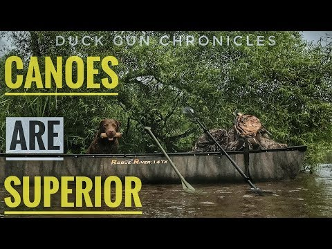 Duck Hunting  From A Canoe 101 -  Plus Solo Tips, Dogs Tips And Hunting Tips!