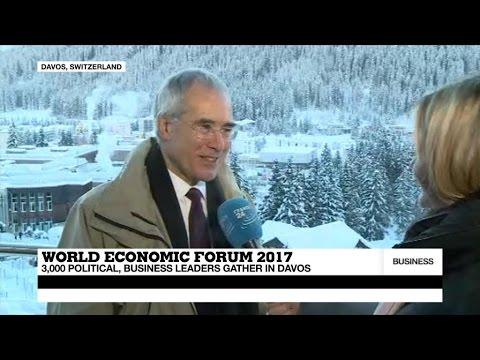 Davos 2017: 'Globalisation is biggest challenge'