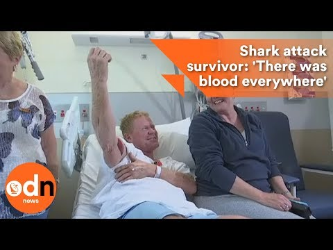 Shark attack survivor: 'There was blood everywhere'