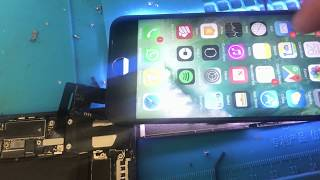 How to repair the lcd touch of an iphone 7 Como reparar el touch del lcd de un iphone 7