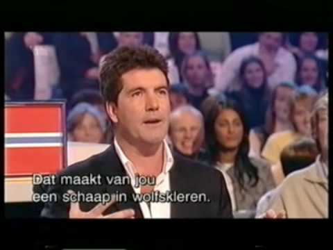 Simon Cowell insults on world idol