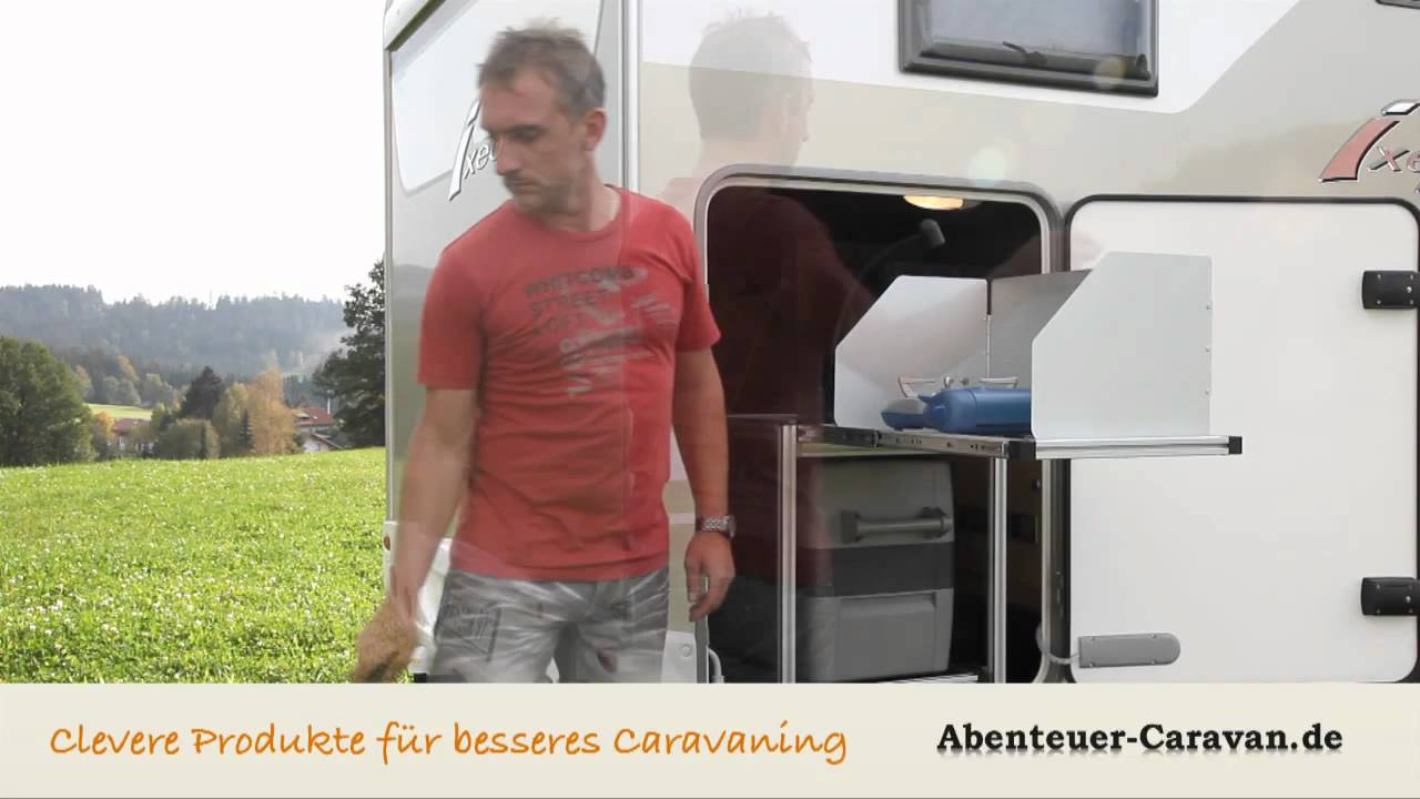 k chenblock f r wohnmobil heckgarage von abenteuer caravan. Black Bedroom Furniture Sets. Home Design Ideas