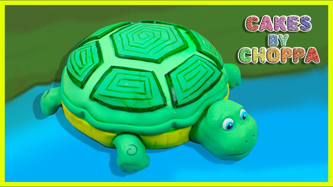 Turtle Cake How To YouTube