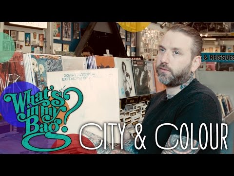 City and Colour – What's In My Bag?