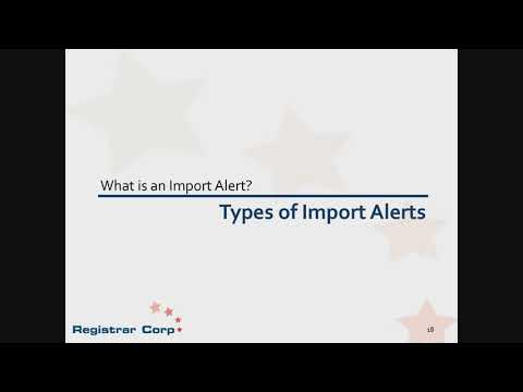 How to Handle U.S. FDA Detentions and Import Alerts