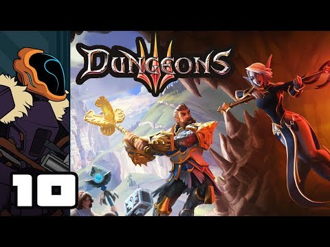 Let's Play Dungeons 3 - PC Gameplay Part 10 - The Night Is Dark And Full Of Monsters