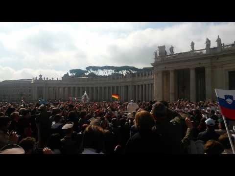 Avdienca Vatikan, 29.4.2015 -2