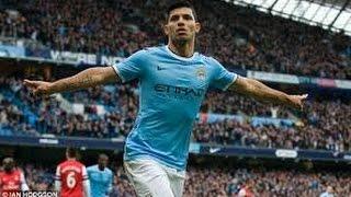 ارسنال ضد مانشستر سيتي ١-0  سيرجيو أغويرو / Arsenal vs Manchester City 1-0 Sergio Aguero