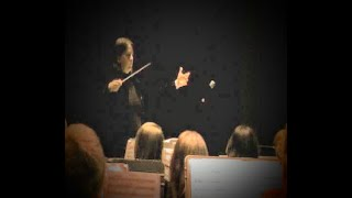 Henry V by Patrick Doyle conducted by student teacher, Jennifer Brown
