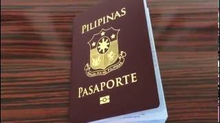 Philippine New High Security Passport (Unboxing and first look)