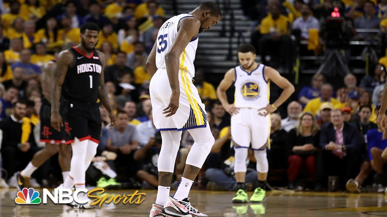 Did Kevin Durant's injury sink the Warriors?   NBC Sports
