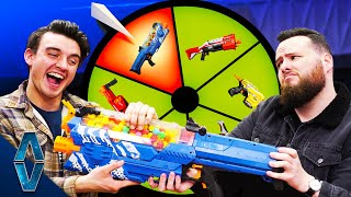 Download Don't Lose Your FAVORITE NERF Blaster Challenge! Mp3 and Videos