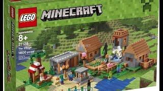 как сделать деревню из лего