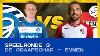 EDIVISIE | Speelronde 3: De Graafschap - FC Emmen