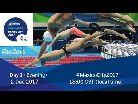 World Para Swimming Championships | Mexico City 2017 | Day 1 Evening