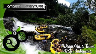 Rafting at Telaga Waja River Bali GoPro 720p