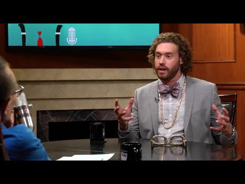 T.J. Miller shares details about Spielberg's 'Ready Player One' | Larry King Now | Ora.TV