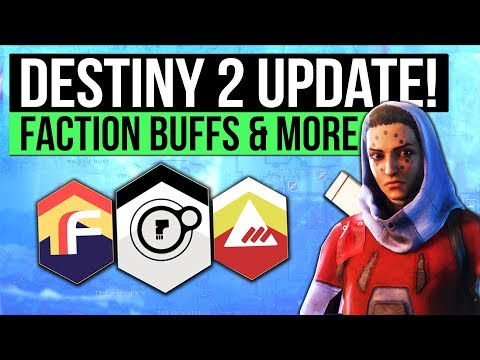 Destiny 2 News | Faction Rally Update, Earn Faction Tokens, Call to Arms Milestone Nerf & Changes!