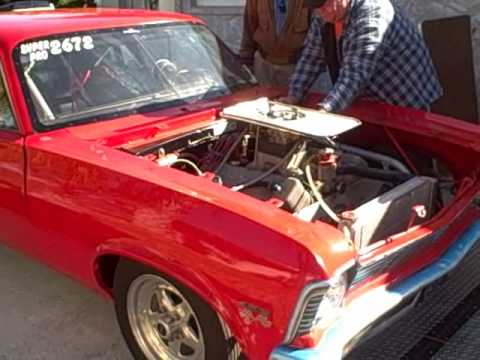 Classic Muscle Cars For Sale >> 1971 Chevy Nova Drag Race Car 496 CU 800 HP Racing Machine ...