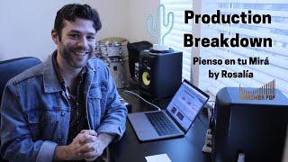Production Breakdown of Rosalía - Pienso En Tu Mirá (Marimba Pop Cover)