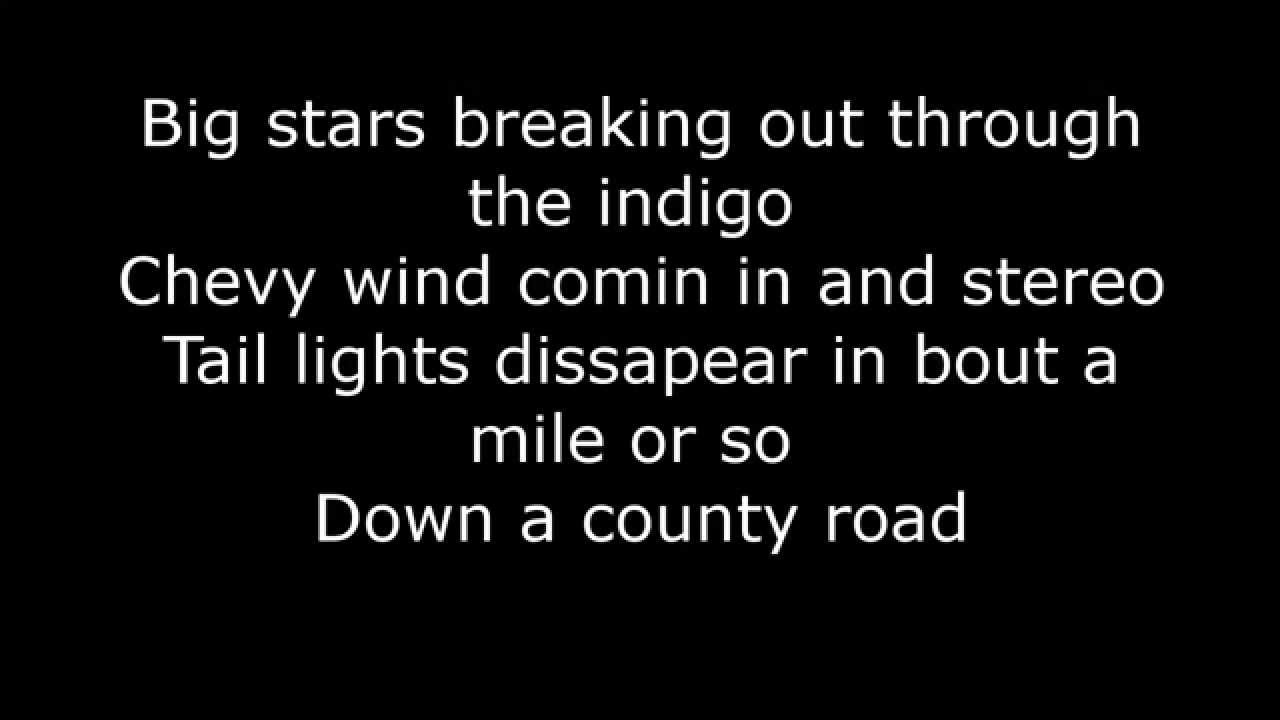 Lyrics to round here by florida georgia line