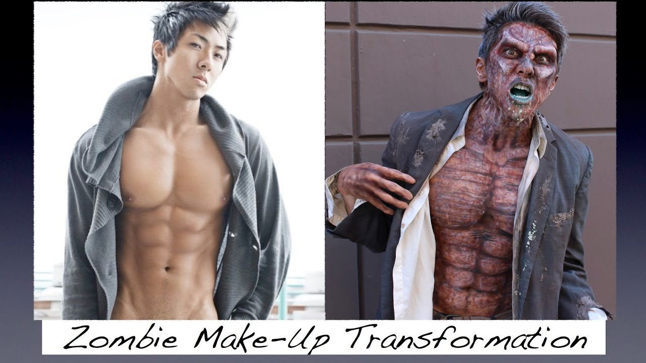 Zombie Make-Up Transformation