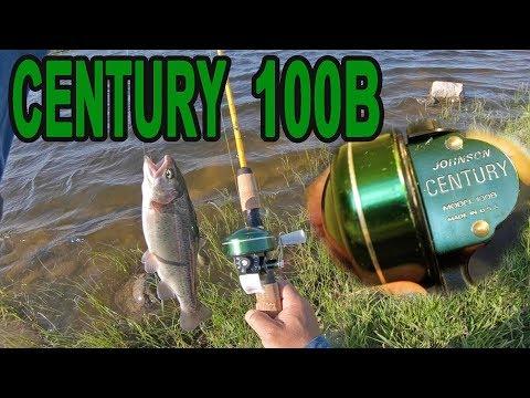 Vintage Johnson Century 100B Trout Fishing
