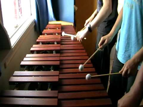 Zelda Ocarina of Time - Saria's Song on Marimba