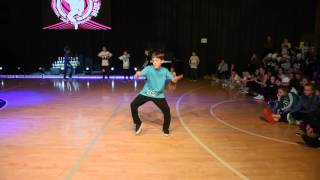 Paulius Ikamas | HipHop Solo Male Children | LT Cup'16 | LithuanianCupTV
