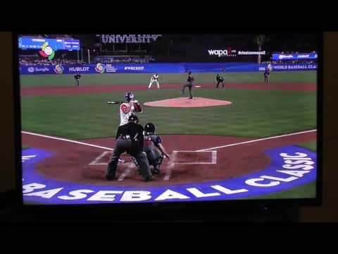 Puerto Rico VS United States World Baseball Classic 2017 (Full)