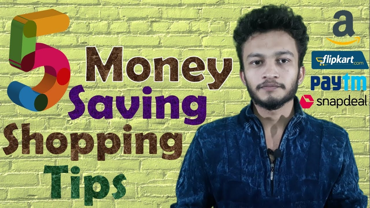 {HINDI} Top 5 Simple Yet Effective Tips To Save Money on Shopping In India || save money online