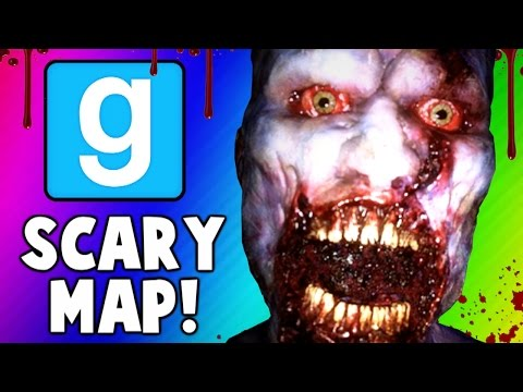 Gmod Scary Maps - Intense Jump Scare, Degreeses, Worst Ending (Garrys Mod Funny Moments)