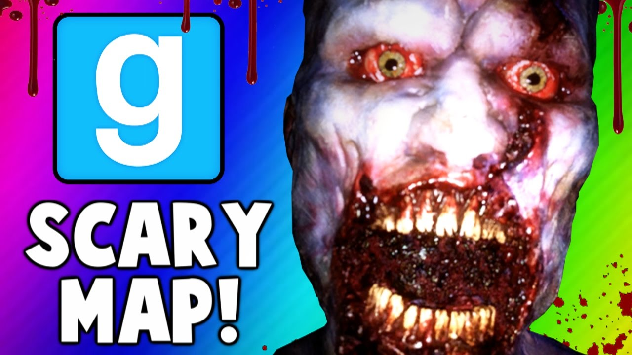"""Download Gmod Scary Maps - Intense Jump Scare, """"Degreeses"""", Worst Ending (Garry's Mod Funny Moments)"""