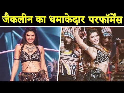 Jacqueline Fernandez Perform Item Song At Star Screen Awards 2018