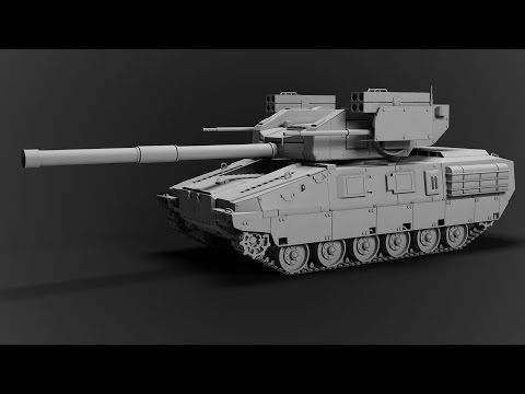 Modeling Tank 3ds max tutorial part - 1