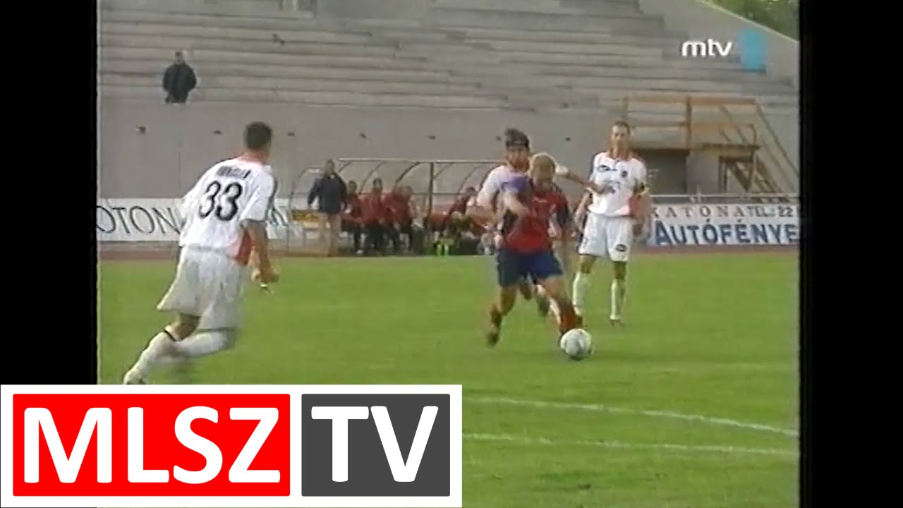 Videoton-Honvéd | 1-2 | 2003. 05. 14 | MLSZ TV Archív