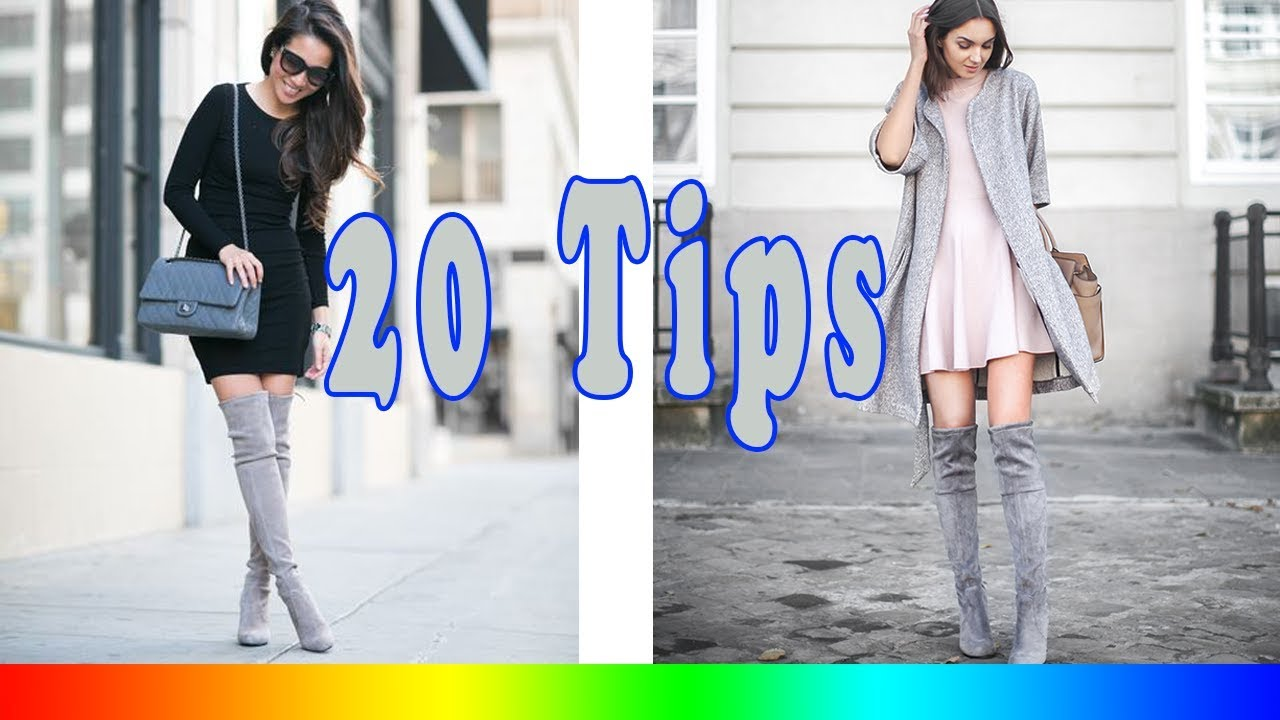 b9cc9437197fa 20 Style Tips On How To Wear Grey Boots - YouTube