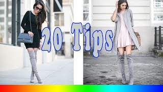 20 Style Tips On How To Wear Grey Boots