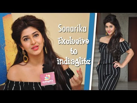 My first shot was a romantic scene : Sonarika