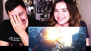 WOLFENSTEIN II: THE NEW COLOSSUS   E3 2017   Full Reveal Trailer Reaction!
