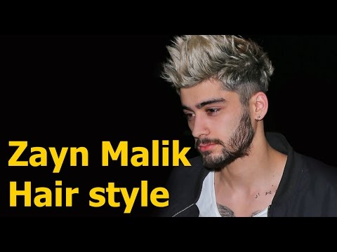 Zayn Malik Hairstyle | Celebrity Hair styles | TCL #08