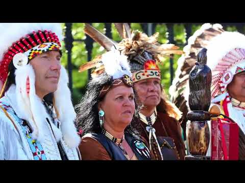 Indigenous leaders stage protest at Governor General's residence