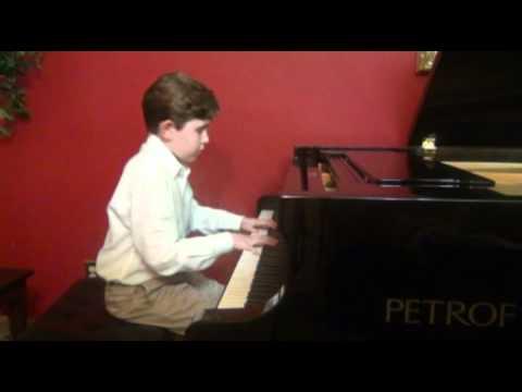 Gavin M George 9, Liszt Liebestraum No 3