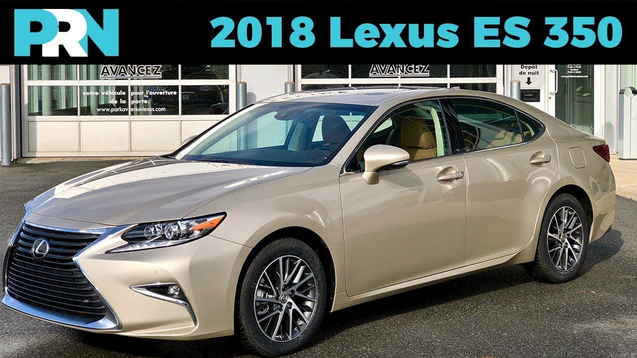 2018 Lexus Es 350 Touring Testdrive Spotlight