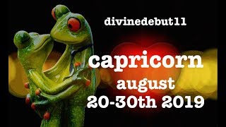 """CAPRICORN 🐸 """"THE LAST DUEL/KINDRED SPIRIT"""" AUGUST 20~30TH 2019 LOVE & GENERAL READING"""